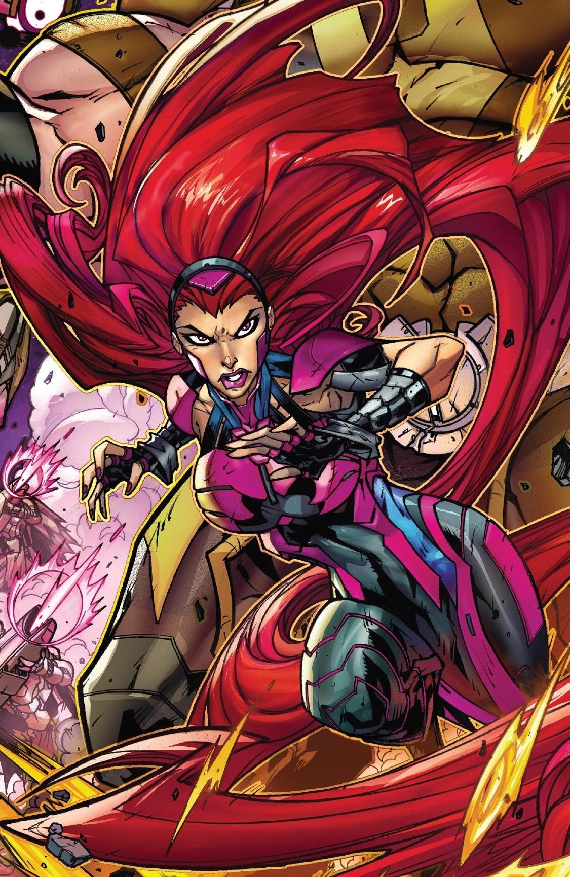 Medusalith Amaquelin Earth 616 Marvel Database