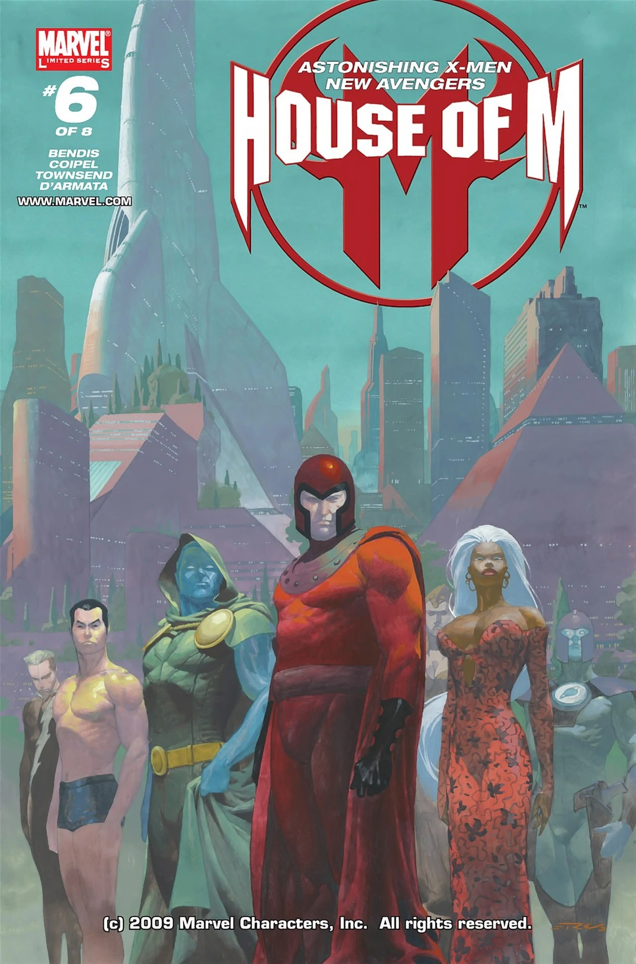 House Of M Vol 1 6 Marvel Database FANDOM Powered By Wikia