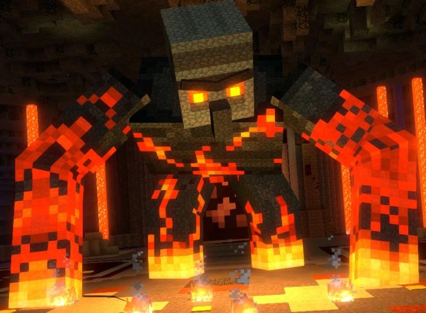 Giant Magma Golem Minecraft Story Mode Wiki FANDOM Powered By Wikia