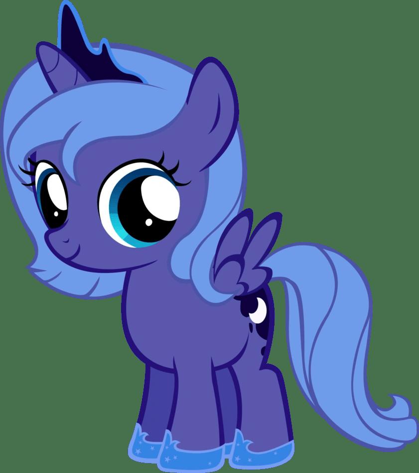 Image Luna Filly By Moongazeponies My Little Pony Fan