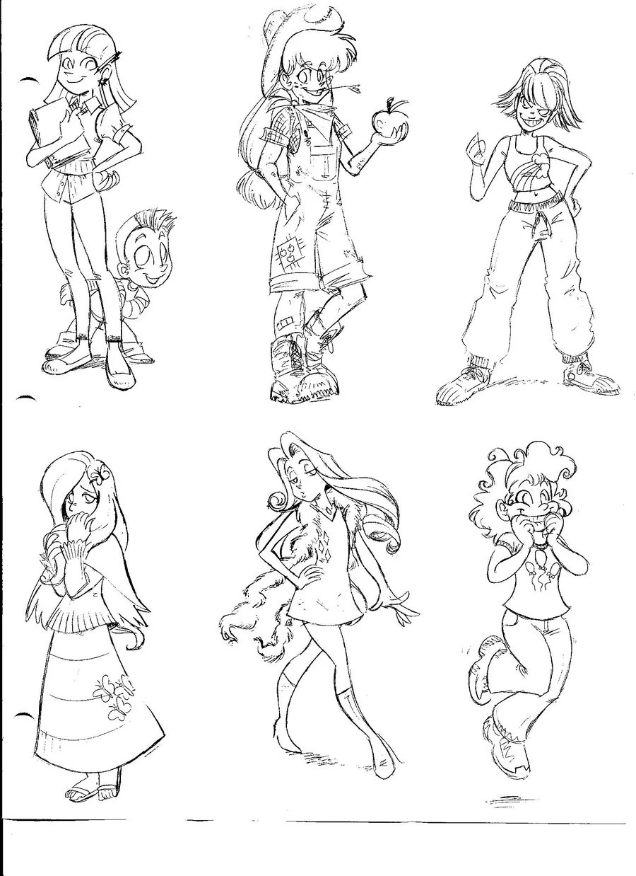 Image My Little Pony Human Versions By Envyskort D31e290