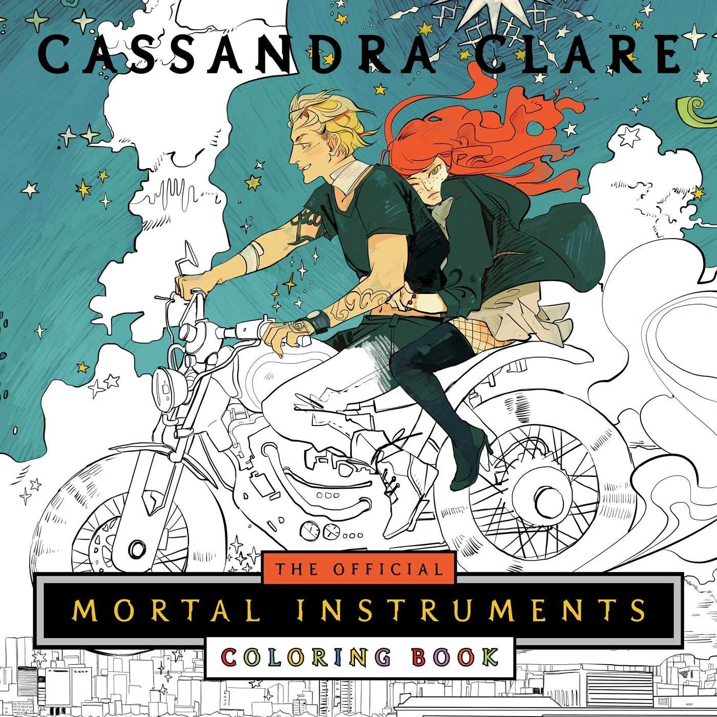 The Official Mortal Instruments Coloring Book The Shadowhunters