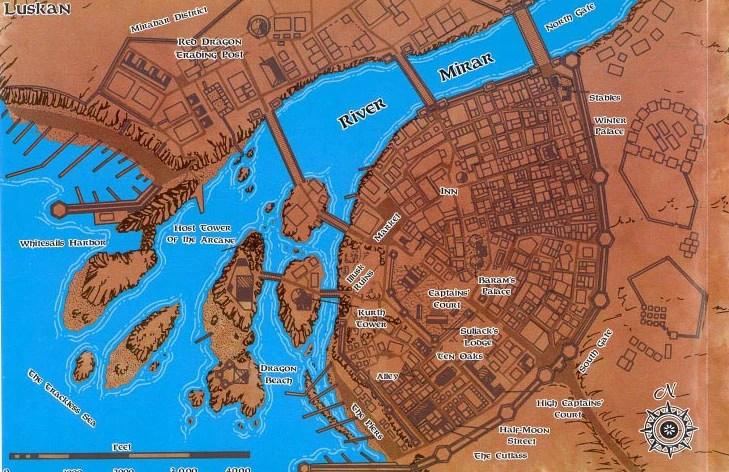 Neverwinter Forgotten Realms Map 5e