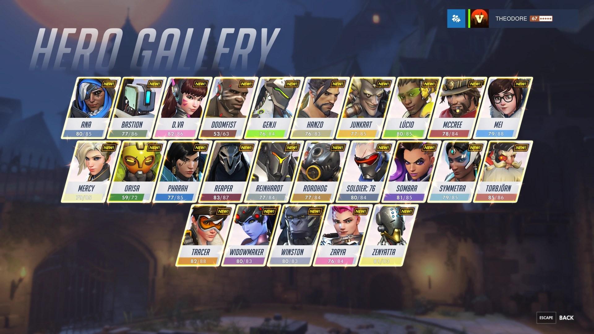 Hero Gallery Overwatch Wiki FANDOM Powered By Wikia