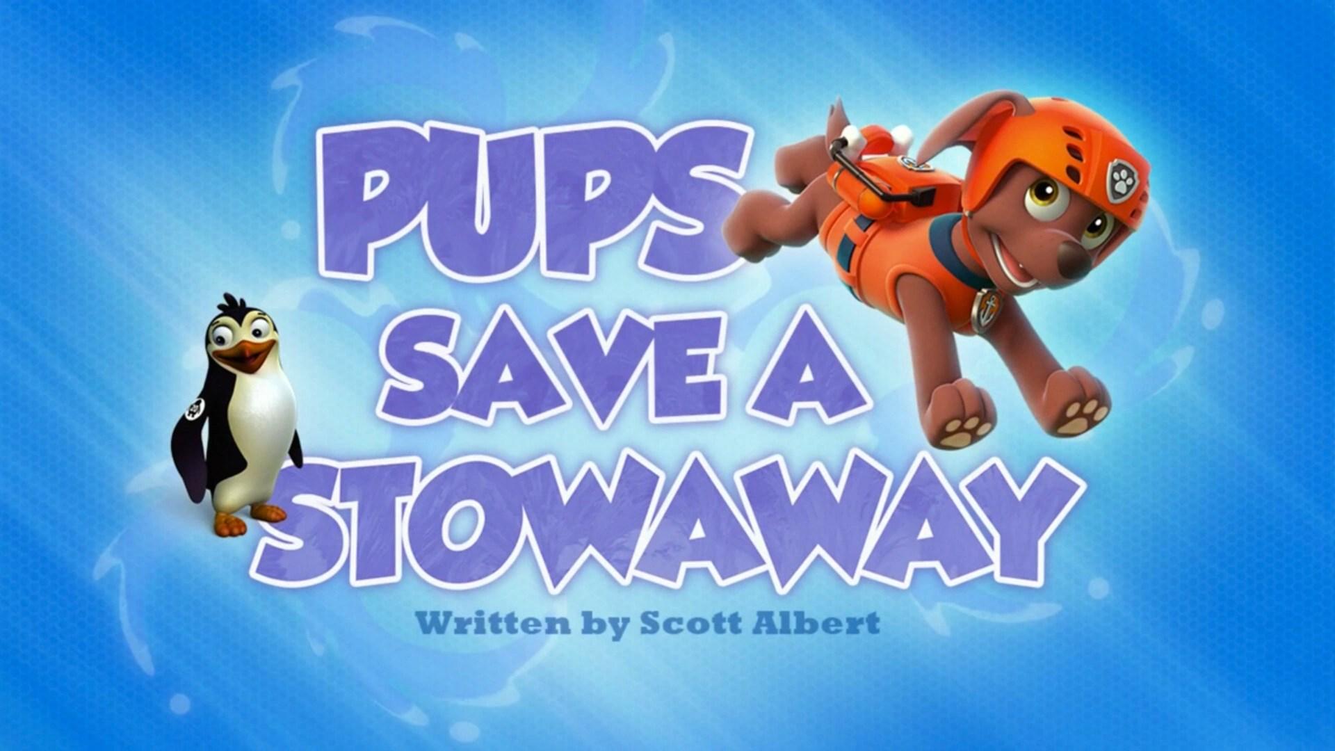 Pups Save A Stowaway PAW Patrol Wiki FANDOM Powered By
