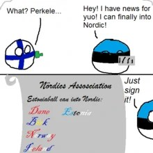 Can Eesti Into Nordic Countryballs By Catfoodz On Deviantart