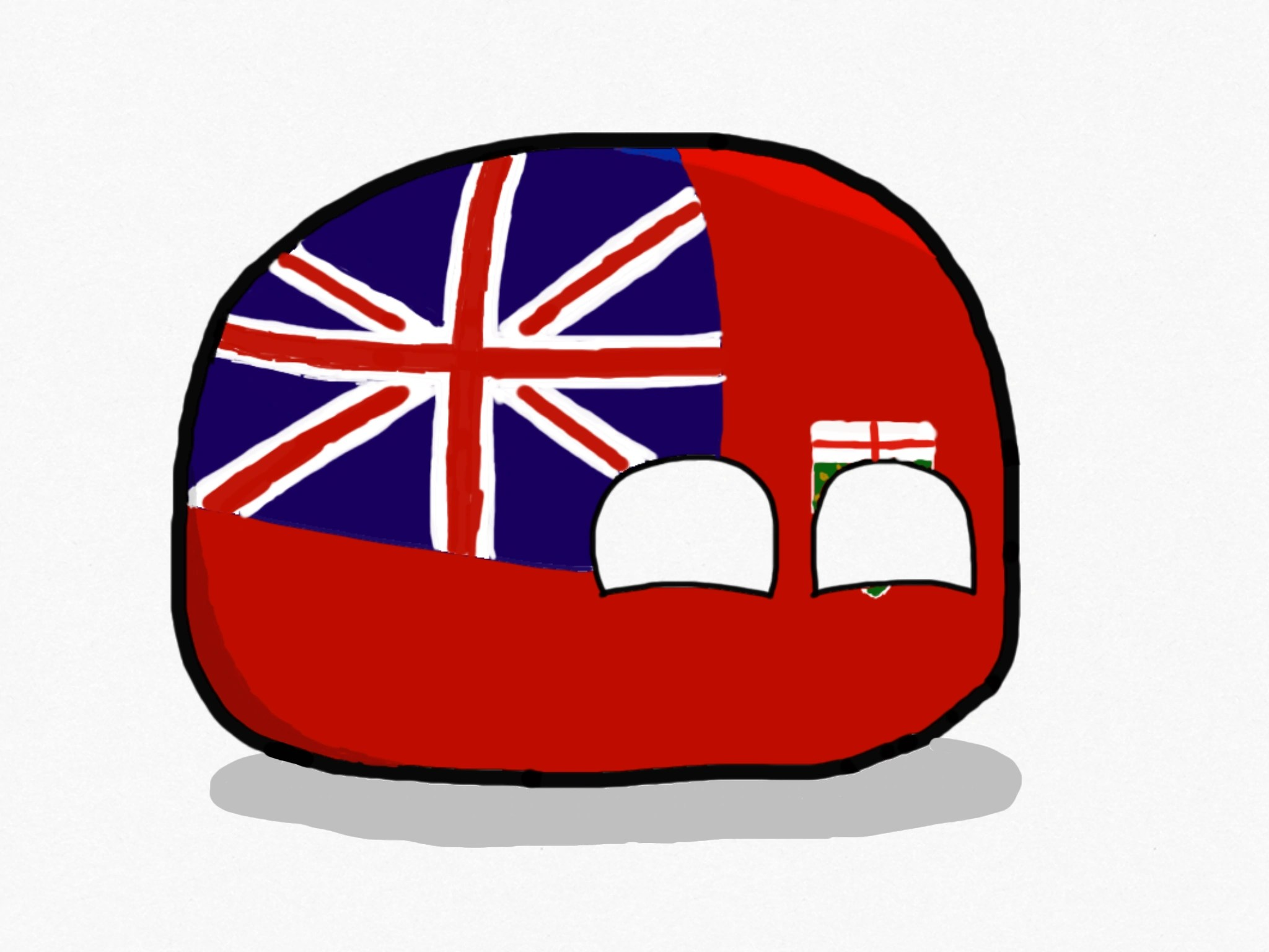 Countryball Uk Gives Canada Advice Worldball
