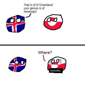 Greenland Polandball
