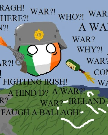 Luck O The Irish Polandball