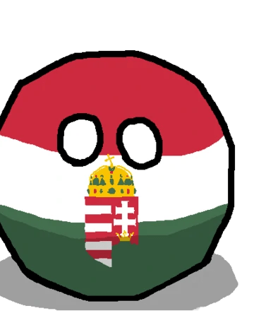 Hungary Countryball But No Circle Tool Illustration 1125x900