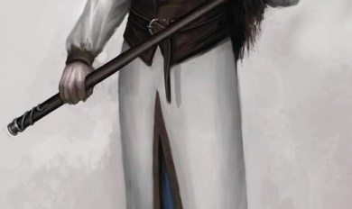 Anine Male Wood Elf Ranger | Wooden Thing