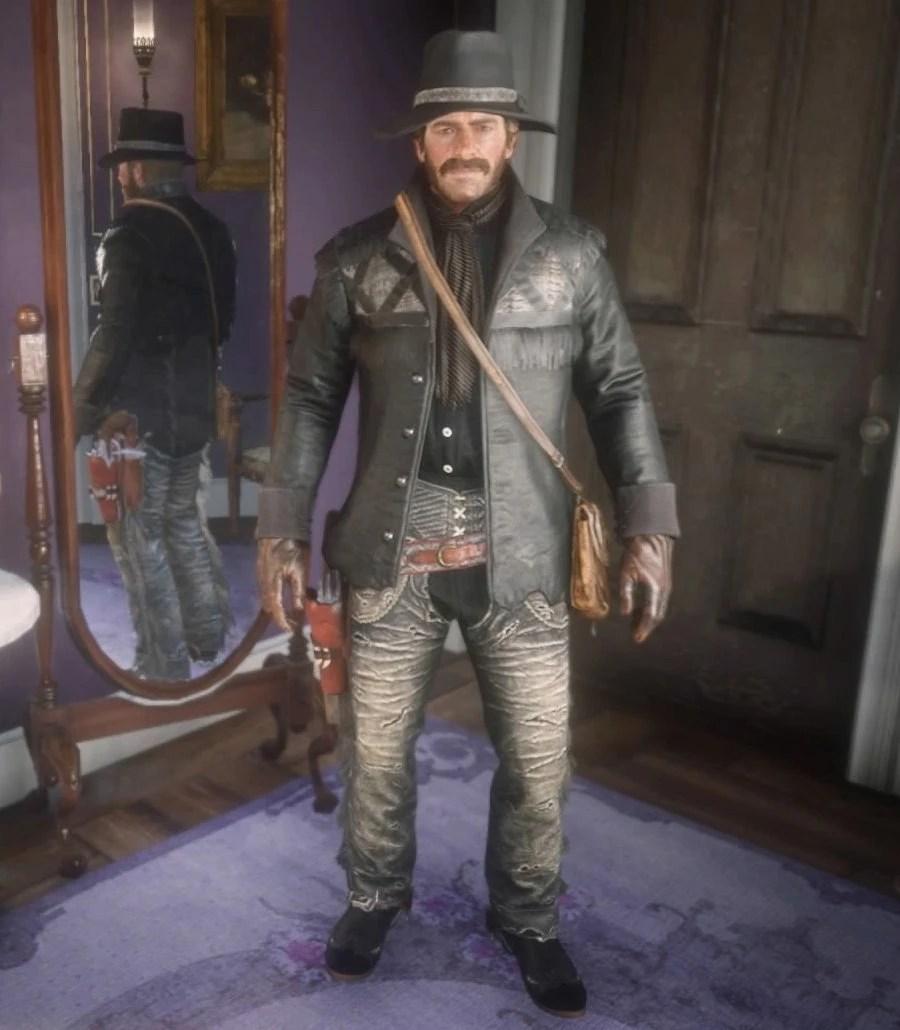Nuevo Paraiso Gunslinger Outfit Red Dead Wiki FANDOM Powered By Wikia