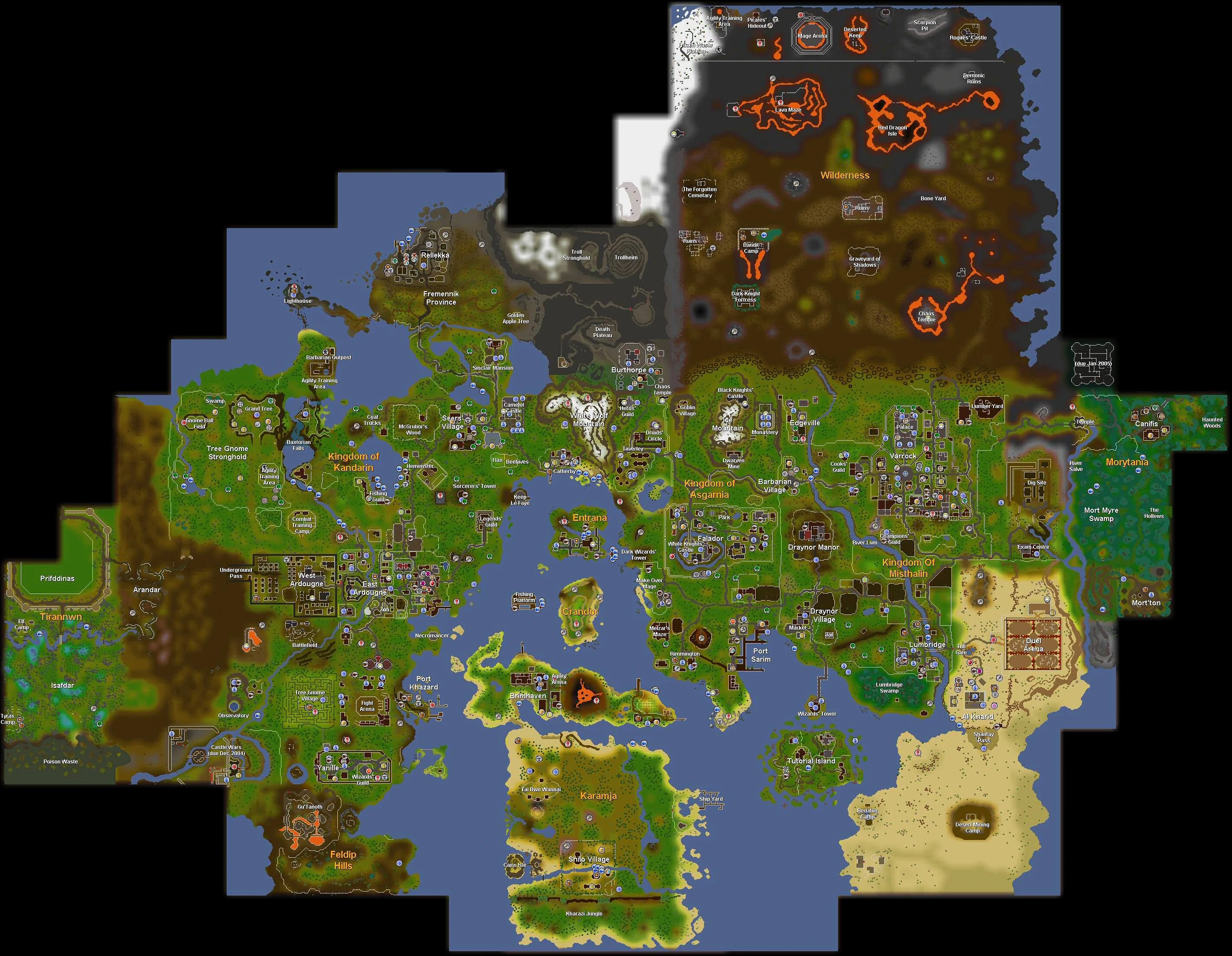 World map History   RuneScape Wiki   FANDOM powered by Wikia