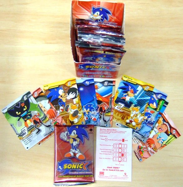 Sonic X Trading Card Game Sonic News Network FANDOM