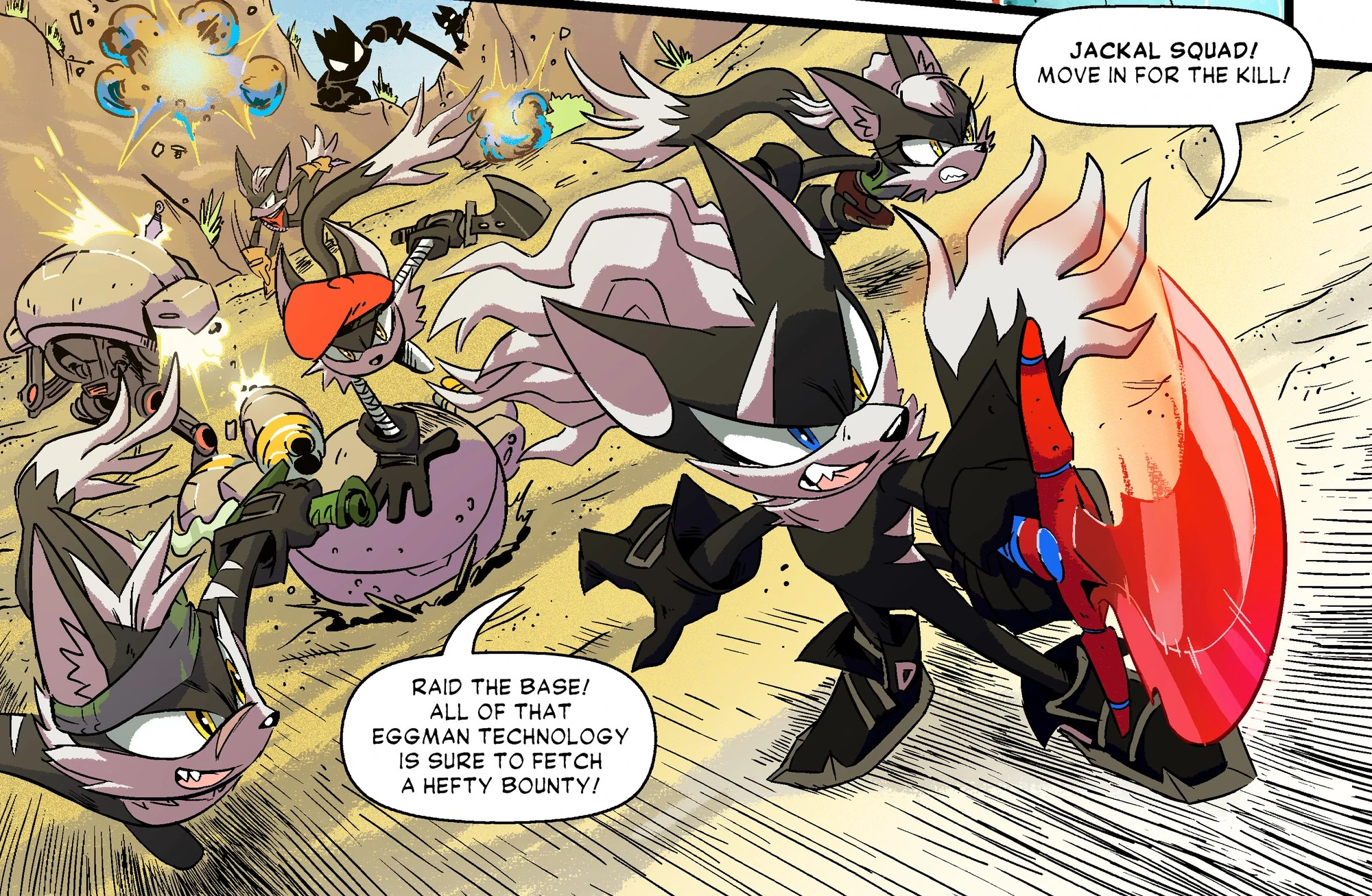 Infinite X Gadget Sonic Forces Comics