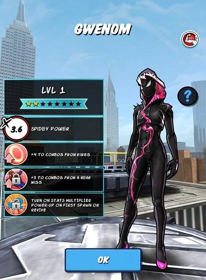 Gwenom Spider Man Unlimited Mobile Game Wiki FANDOM Powered By Wikia