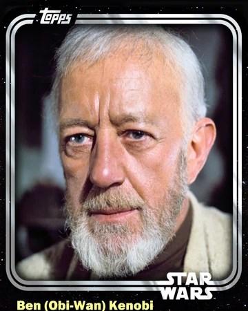 Ben Obi Wan Kenobi Jedi Master Base Series 1 Star Wars Card Trader Wiki Fandom
