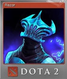 Dota 2 Razor Steam Trading Cards Wiki FANDOM Powered