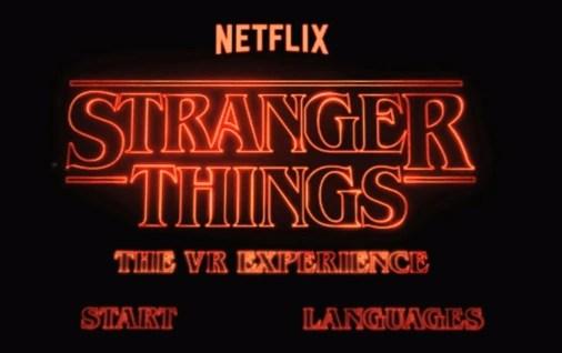 Stranger Things The VR Experience Stranger Things Wiki