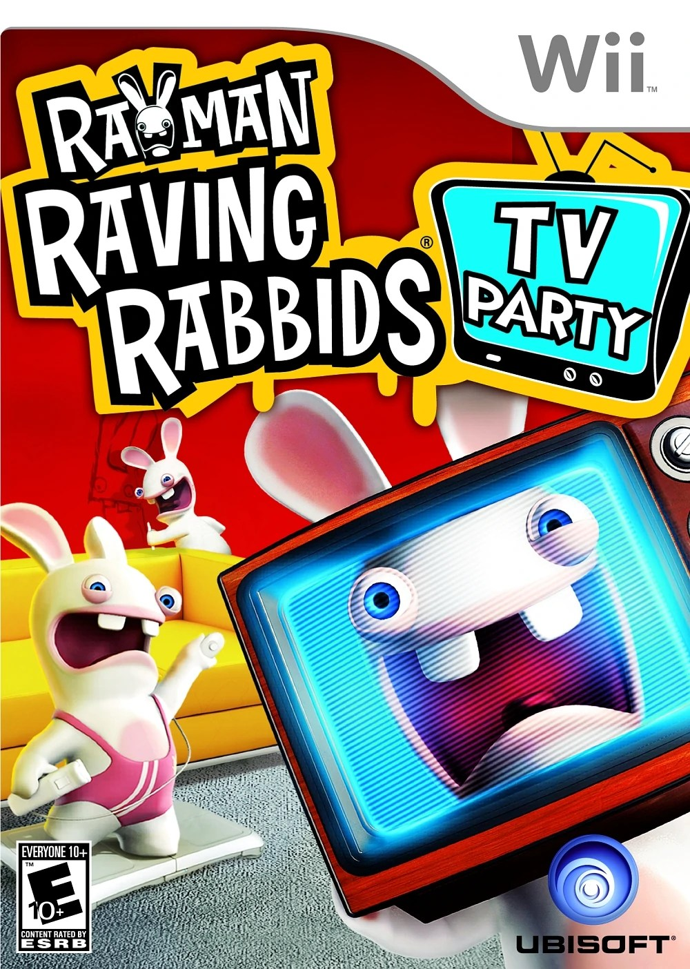 Rayman Raving Rabbids TV Party Wii Classic Game Room