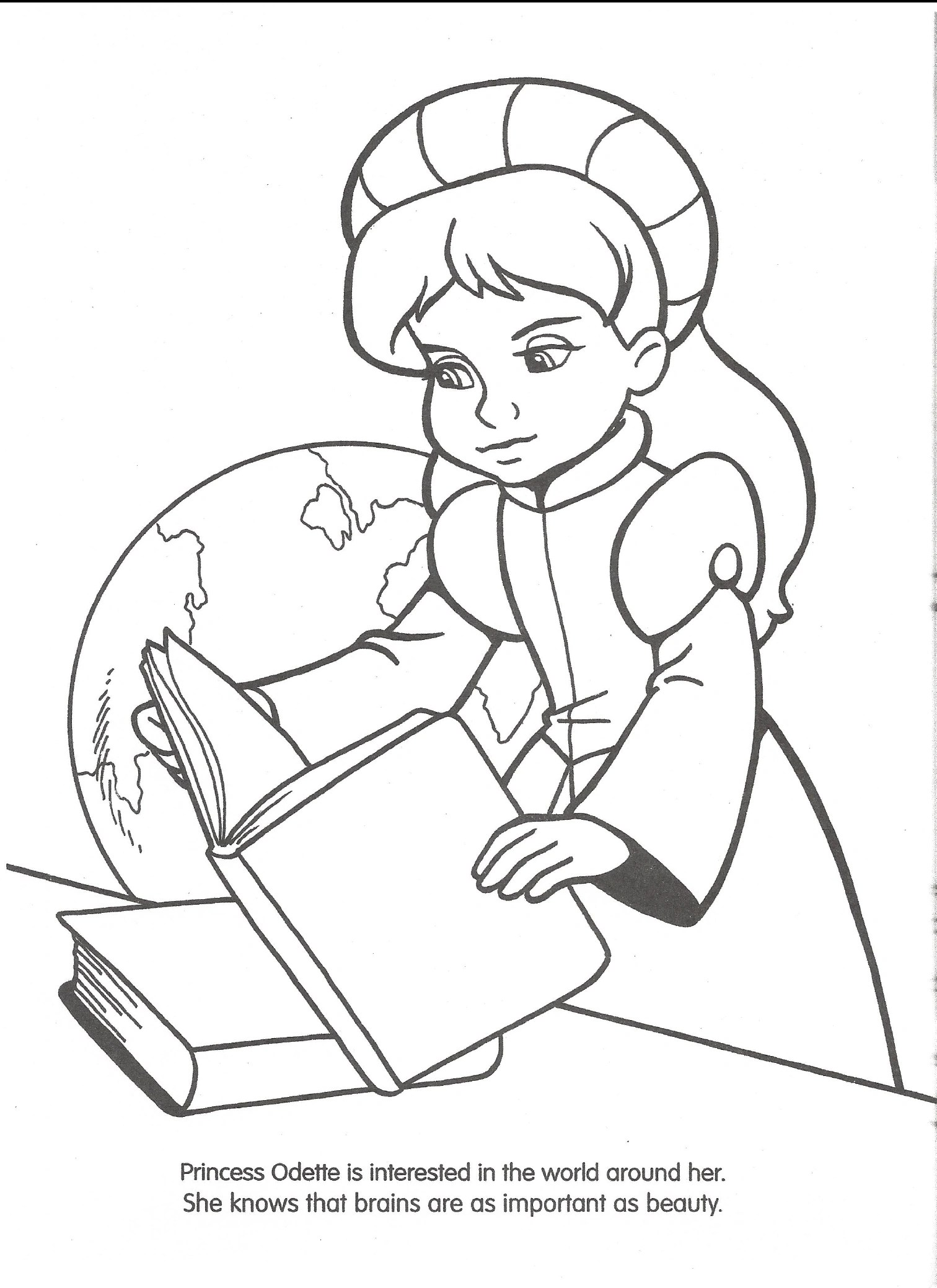 Image Swan Princess Official Coloring Page 7 The Swan