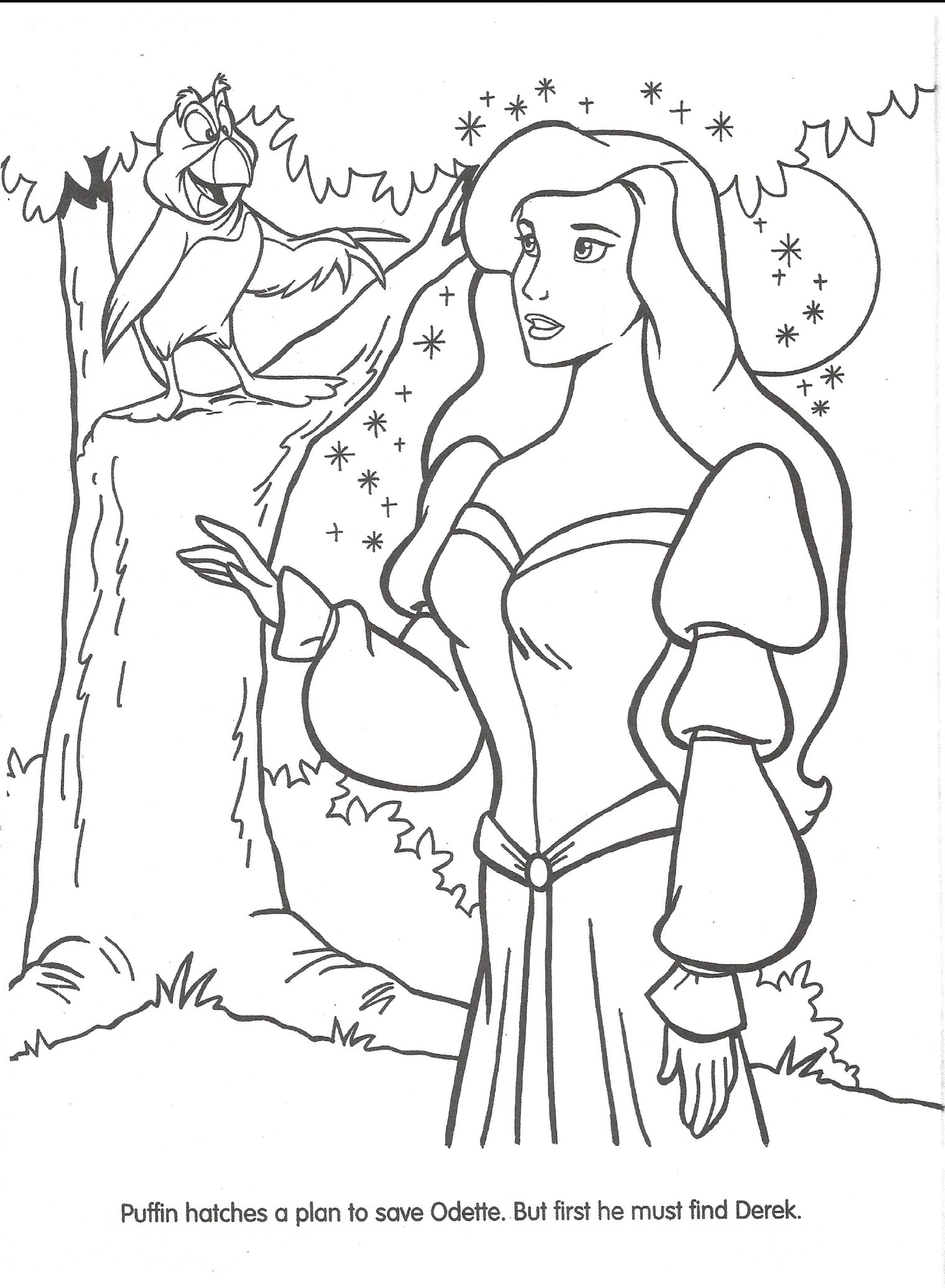 Image Swan Princess Official Coloring Page 19 The Swan