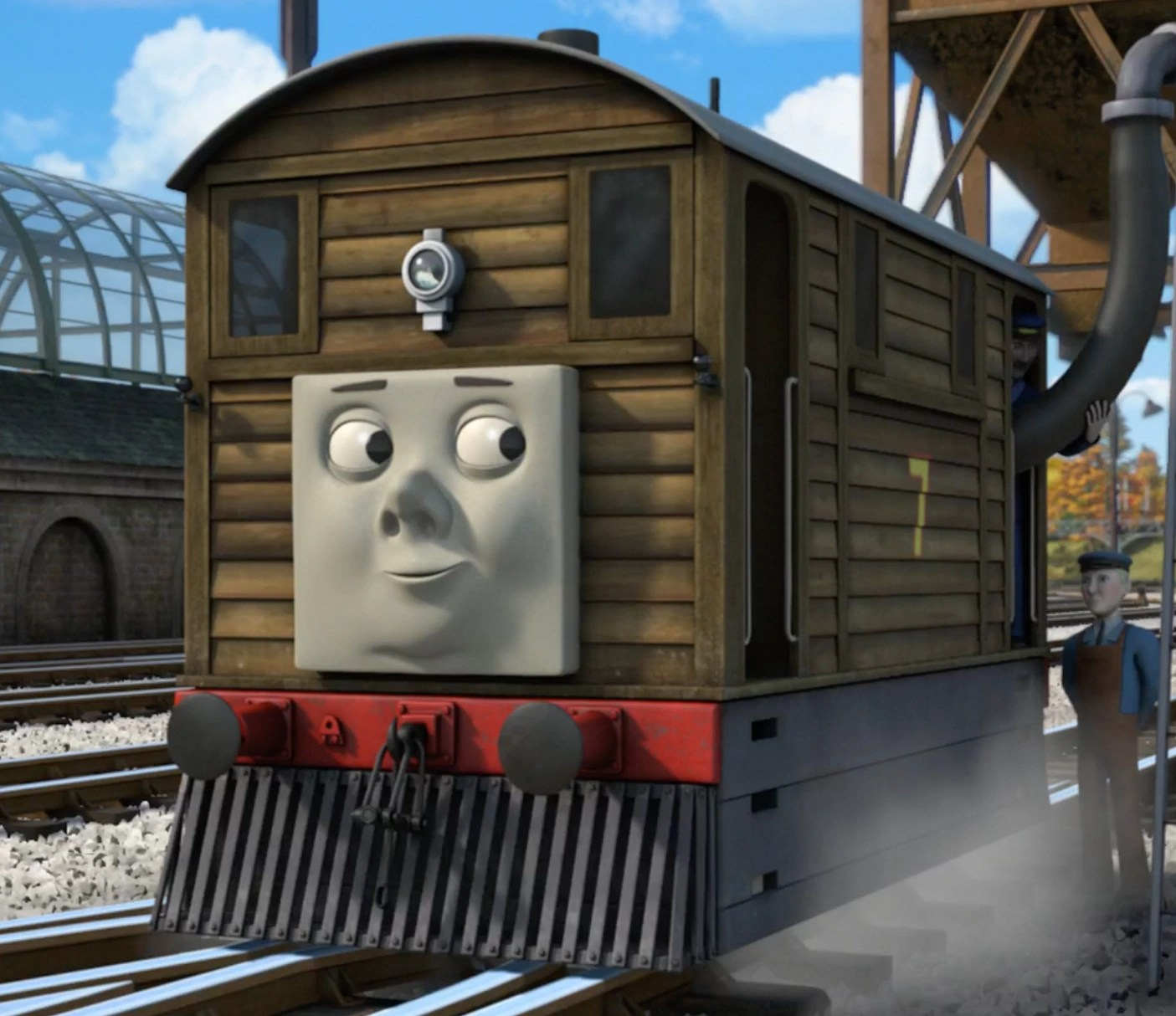 White Black And Friends And Pictures Thomas Railway King