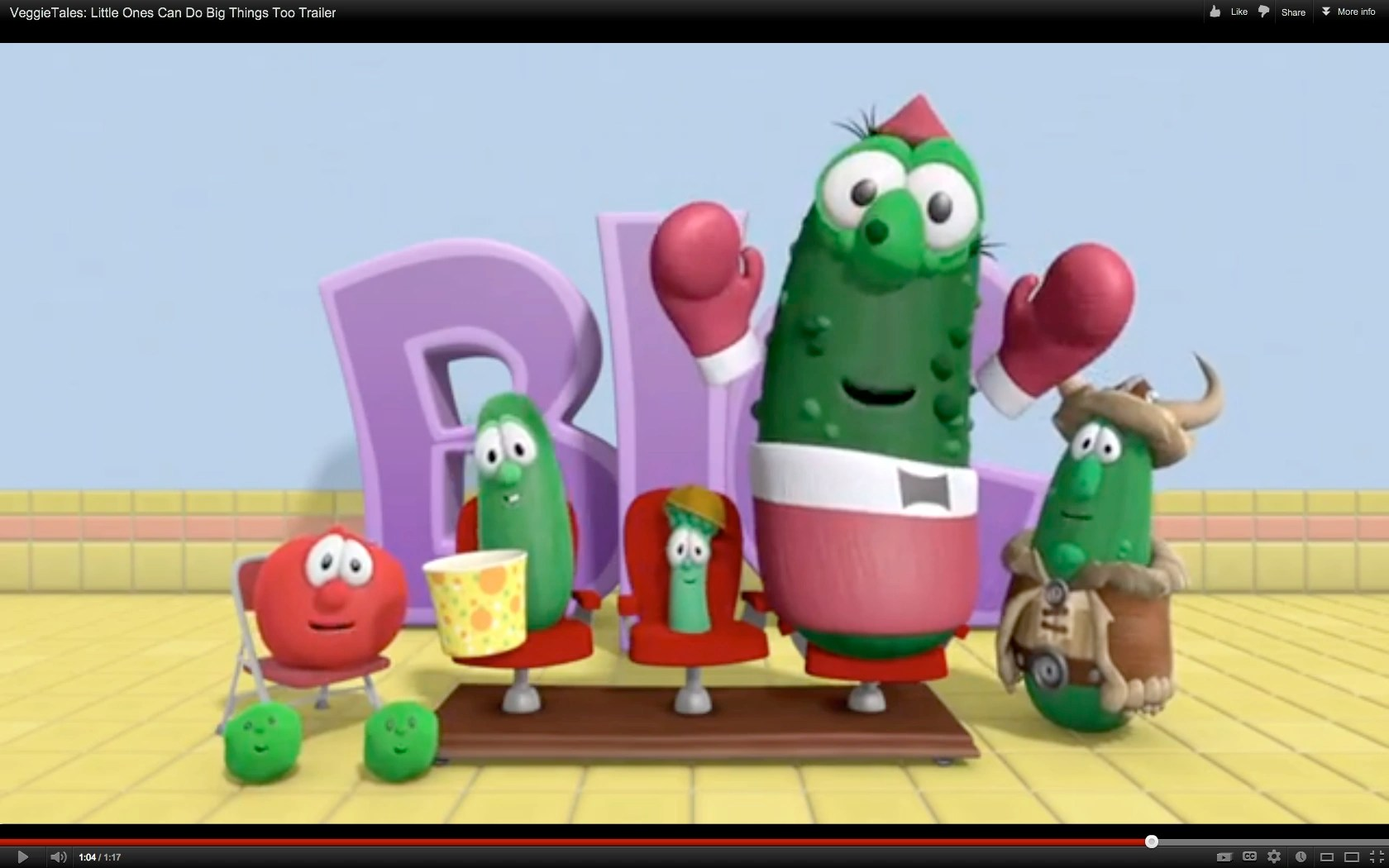 Veggietales Pickle Giant Dave Gallery And