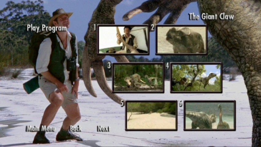 Image Episode Selection The Giant Claw Chased By