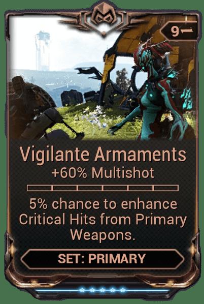 Vigilante Armaments WARFRAME Wiki FANDOM Powered By Wikia