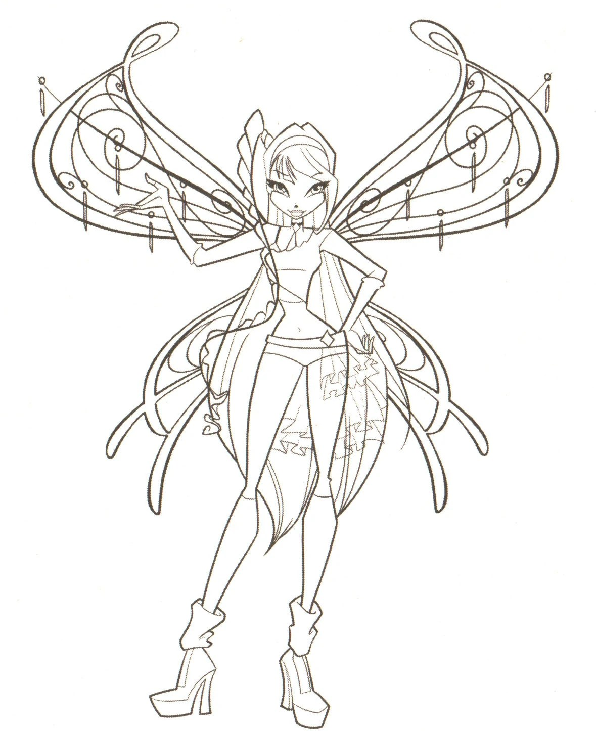 Image Coloring Pages The Winx Club 18341776 1179 1446 Winx