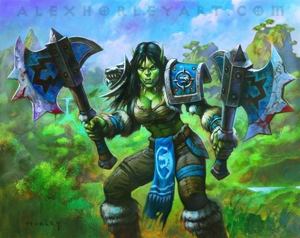 World Warcraft Durotan And Draka