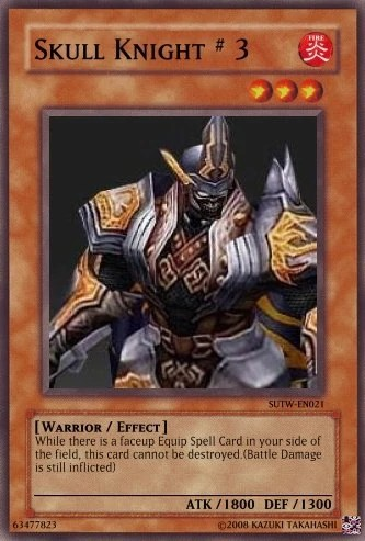 Skull Knight Yu Gi Oh Card Maker Wiki Fandom Powered