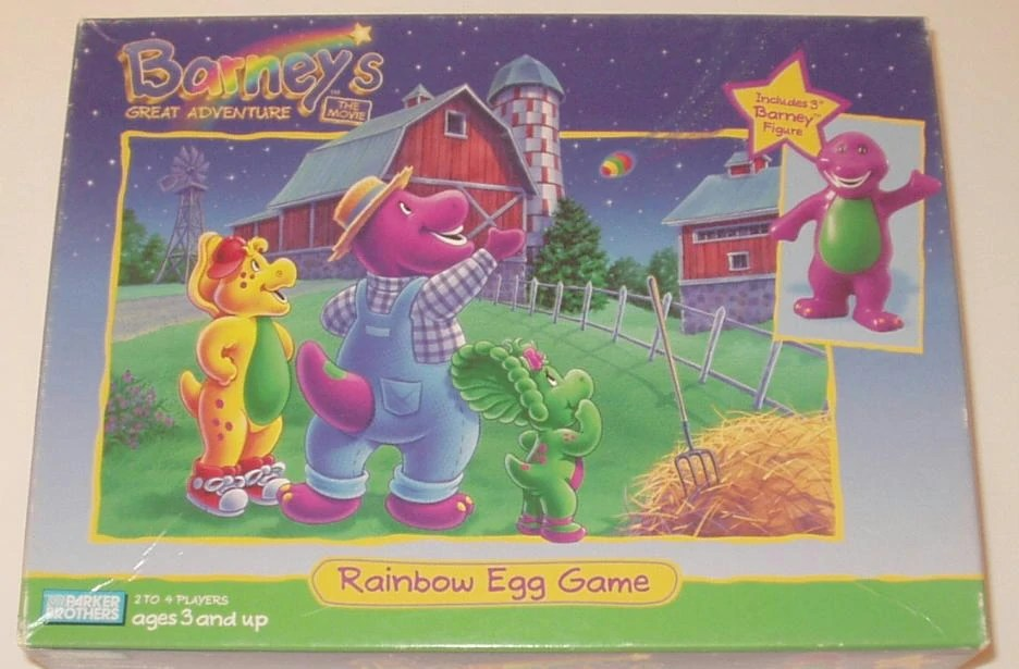 Barney And Friends Playset Toys