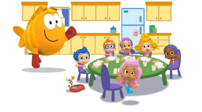 bubble guppies new years dragon