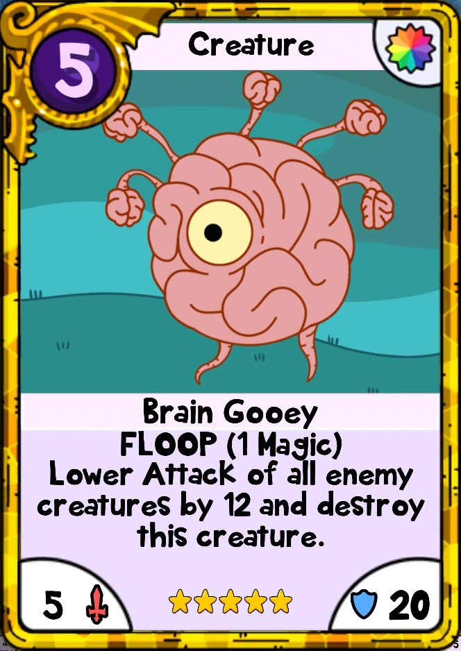 Brain Gooey Card Wars Wiki FANDOM Powered By Wikia