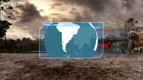 Video Mapusaurus Planet Dinosaur Episode 5 BBC One