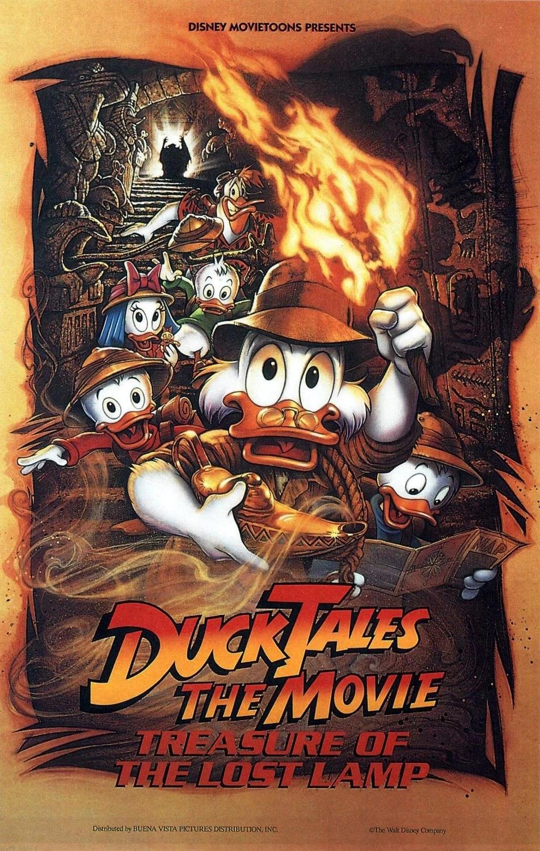 DuckTales The Movie Treasure Of The Lost Lamp Disney