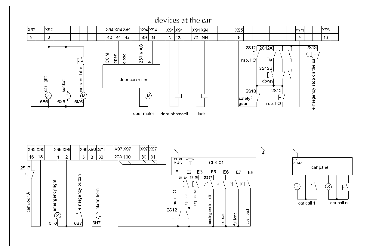 Image  Hydraluic Drive wiring Diagram (Shaft)png | Elevator Wiki | FANDOM powered by Wikia