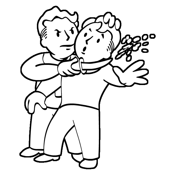 Fallout Vault Boy Coloring Pages