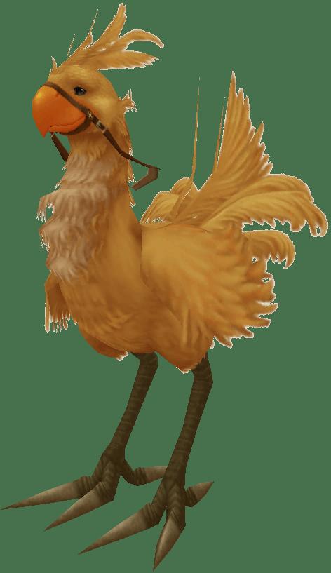 Image Chocobo Render Ffxpng Final Fantasy Wiki