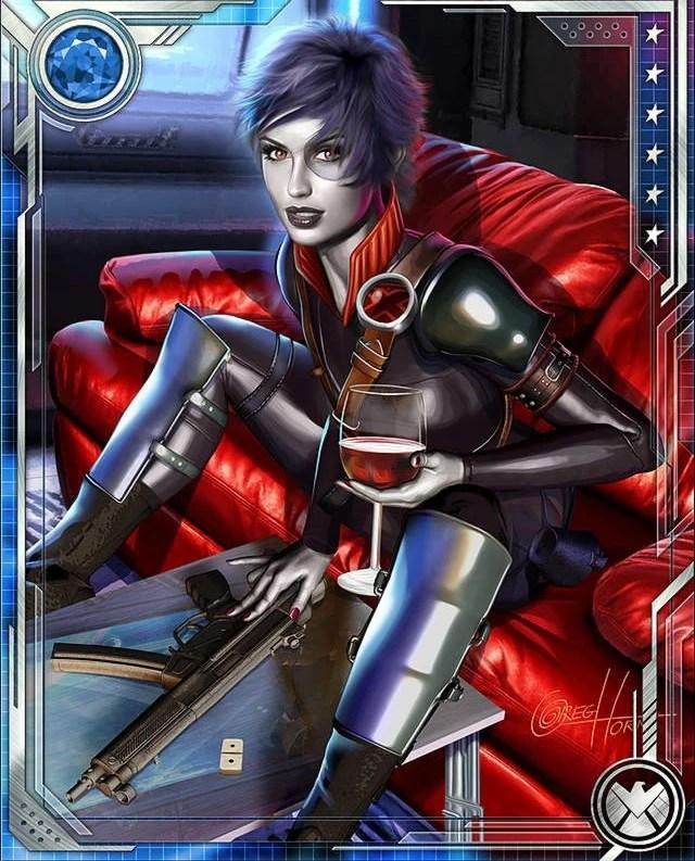 Odds Favor Me Domino Marvel War Of Heroes Wiki