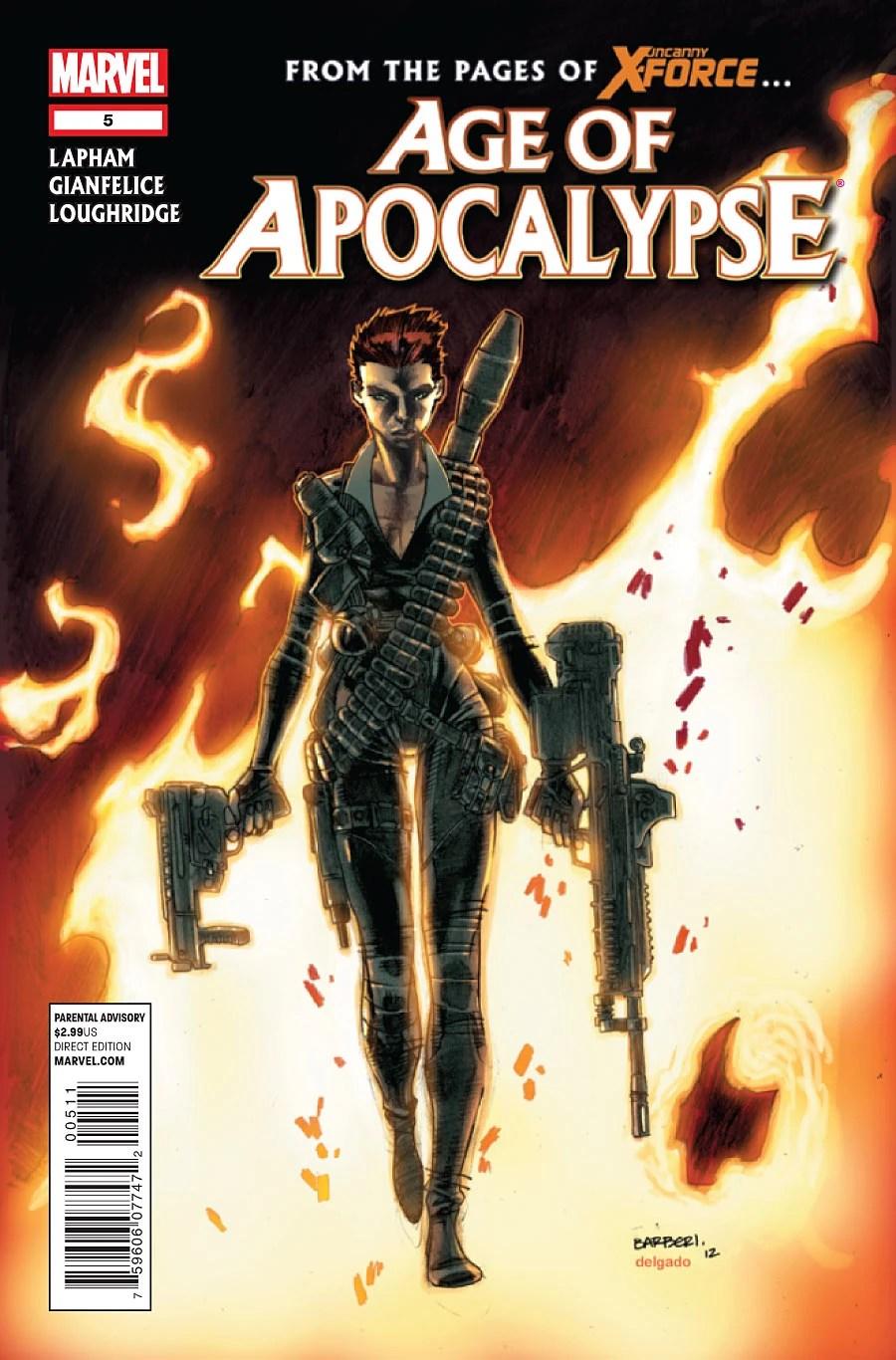 Age Of Apocalypse Vol 1 5 Marvel Database FANDOM Powered By Wikia