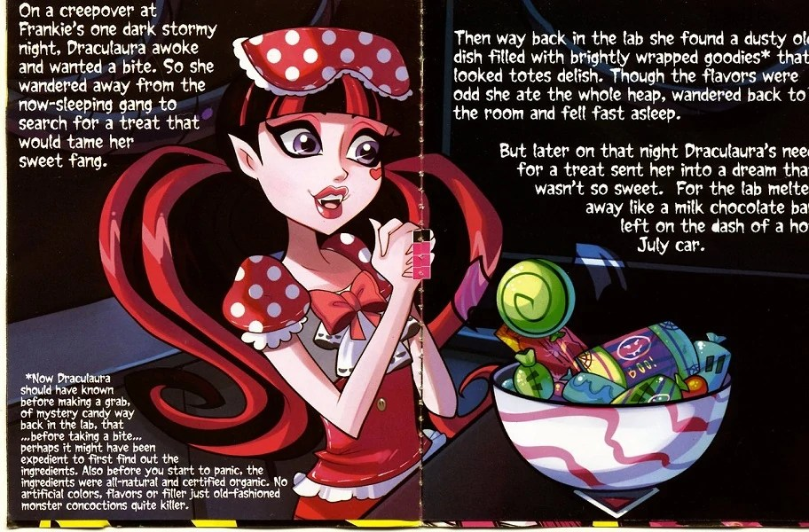 Sweet Screams Storybooks Monster High Wiki Fandom