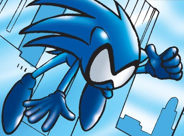 Sonic Hedgehog And Amy Werehog Rose