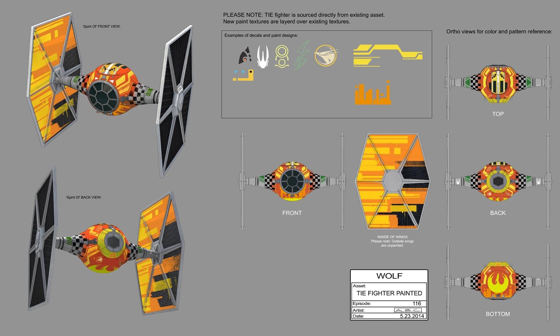 Rebel TIE FighterGallery Star Wars Rebels Wiki FANDOM Powered By Wikia