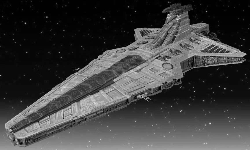 Star Wars Destroyer Republic Star