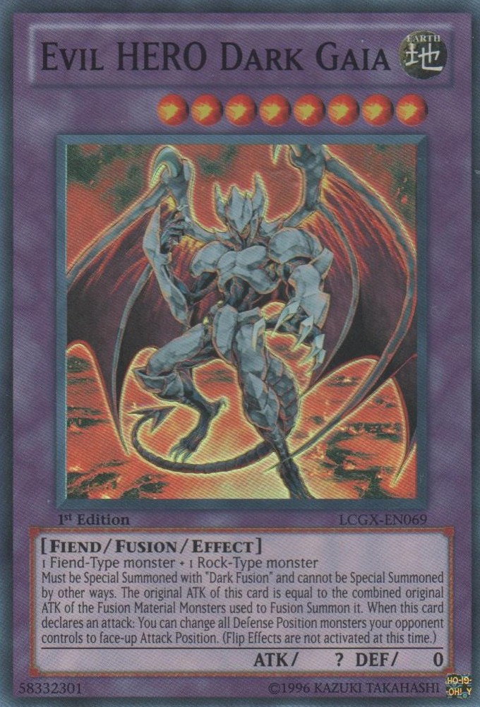 Card RulingsEvil HERO Dark Gaia Yu Gi Oh FANDOM