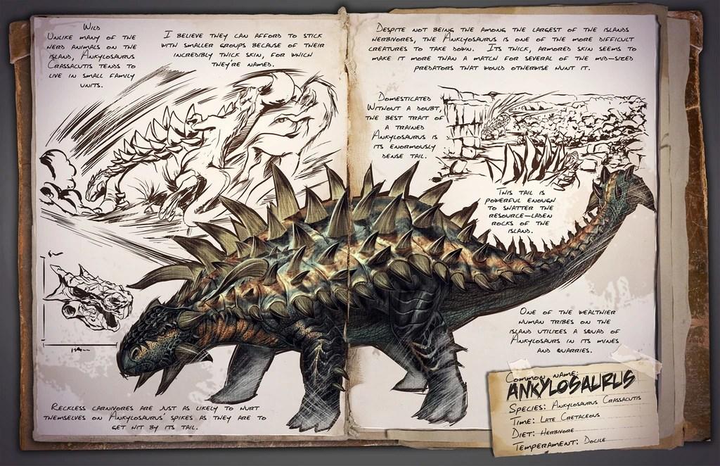 Ankylosaurus ARK Survival Evolved Wiki FANDOM Powered