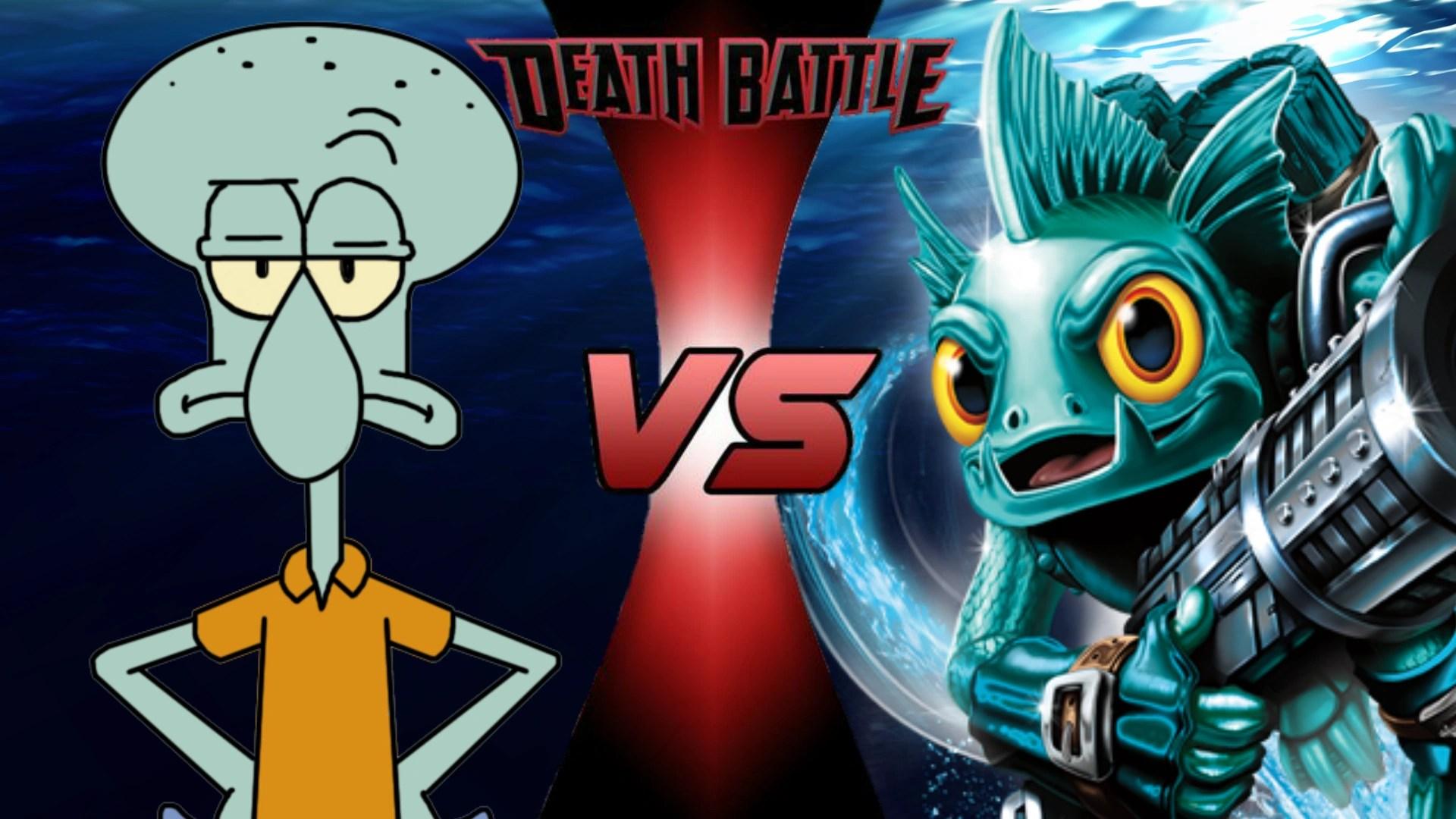 Squidward Tentacles Vs Gill Grunt Death Battle Fanon